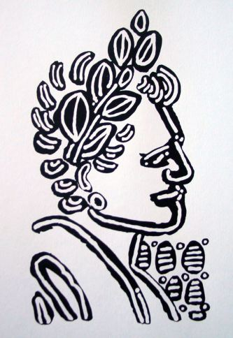 Laureled Lady by Evan Silberman, 2007
