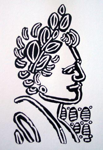 Laureled Lady by Evan Silberman, 2007