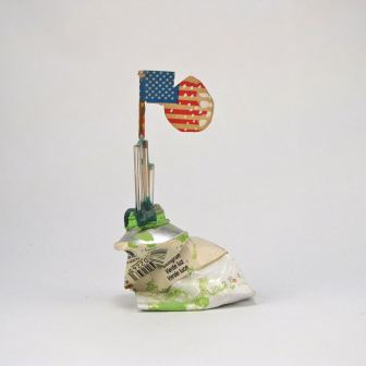 Charms - Green Riser by E.G.Silberman, mid 90's