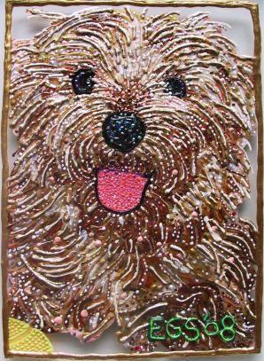 Pet Portrait - Augie by E.G.Silberman, 2008