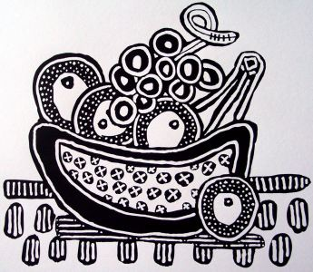 B&W - Fruit Bowl by E.G.Silberman, 2007