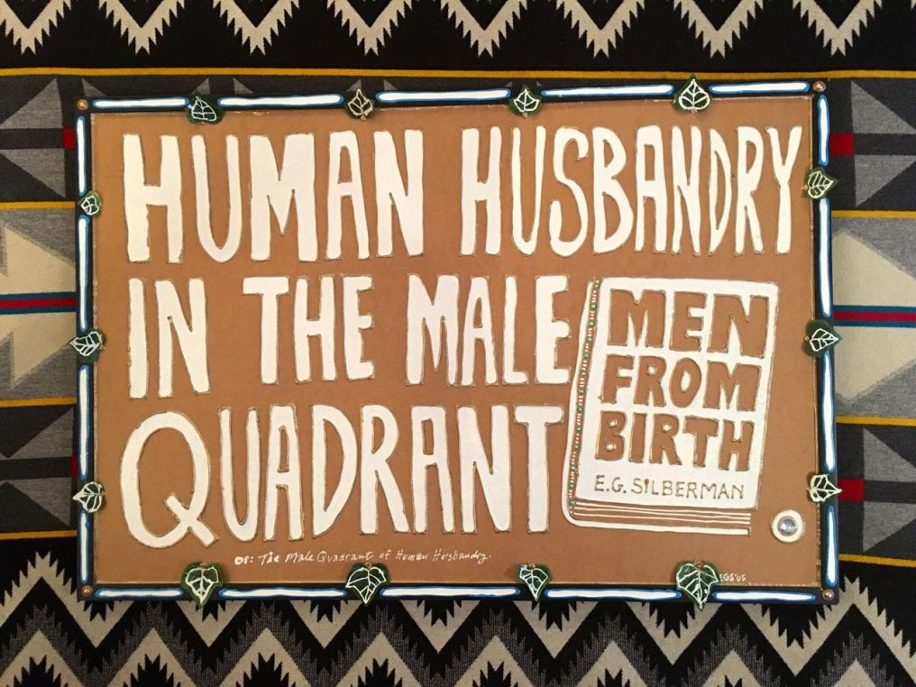 Human Husbandry in the Male Quadrant - Evan Silberman NYC - 2005