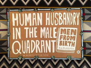 Human Husbandry in the Male Quadrant - Evan Silberman NYC - 2005