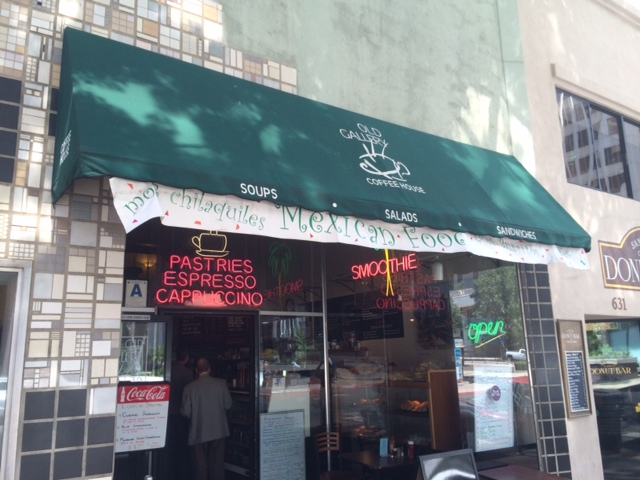 Old Gallery Coffee House and Mexican Cuisine  Evans Menus