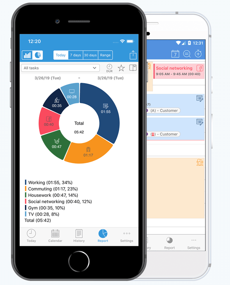 ATracker 2 - 14 Best Goal-Setting Apps for a Productive 2020