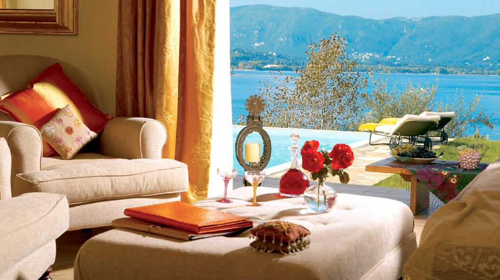 Romantic Villa with Private Pool  Grecotel Eva Palace Corfu