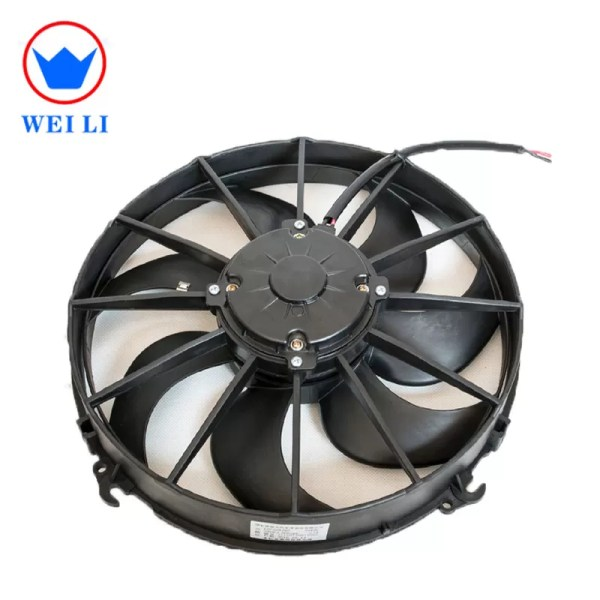 Bus Air Conditioner Radiator Fan Condenser Cooling 12 24v 12v Dc