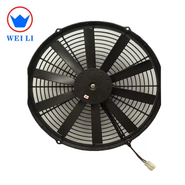 Bus Truck Condenser 12v 14 Cooling Fan Auto Air Conditioner Parts