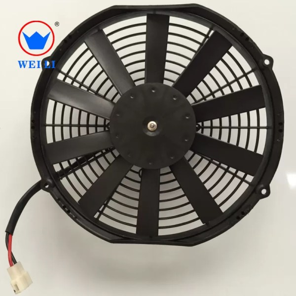 1500m3 Bus Air Conditioning Parts 11 Refrigerated 12v Dc Cooling Fan