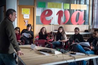 Desayuno en clave de economía solidaria de Reas en el EVA