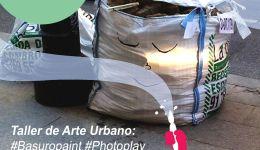 Taller de arte urbano en evarganzuela