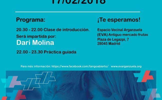 Tango abierto en evarganzuela #EVA