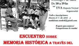 Encuentro sobre memoria histórica a través del Teatro de las Oprimidas