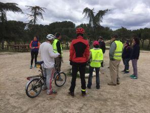 En Bici Arganzuela Meloncleta marzo 2018