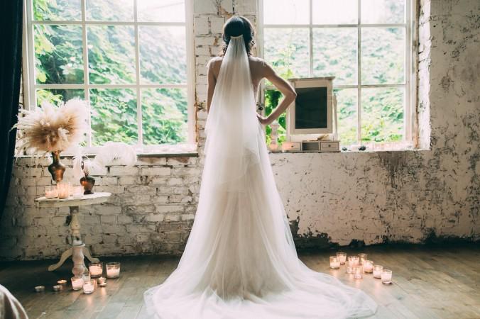 Schleier Mittellang Hochzeitsfrisuren