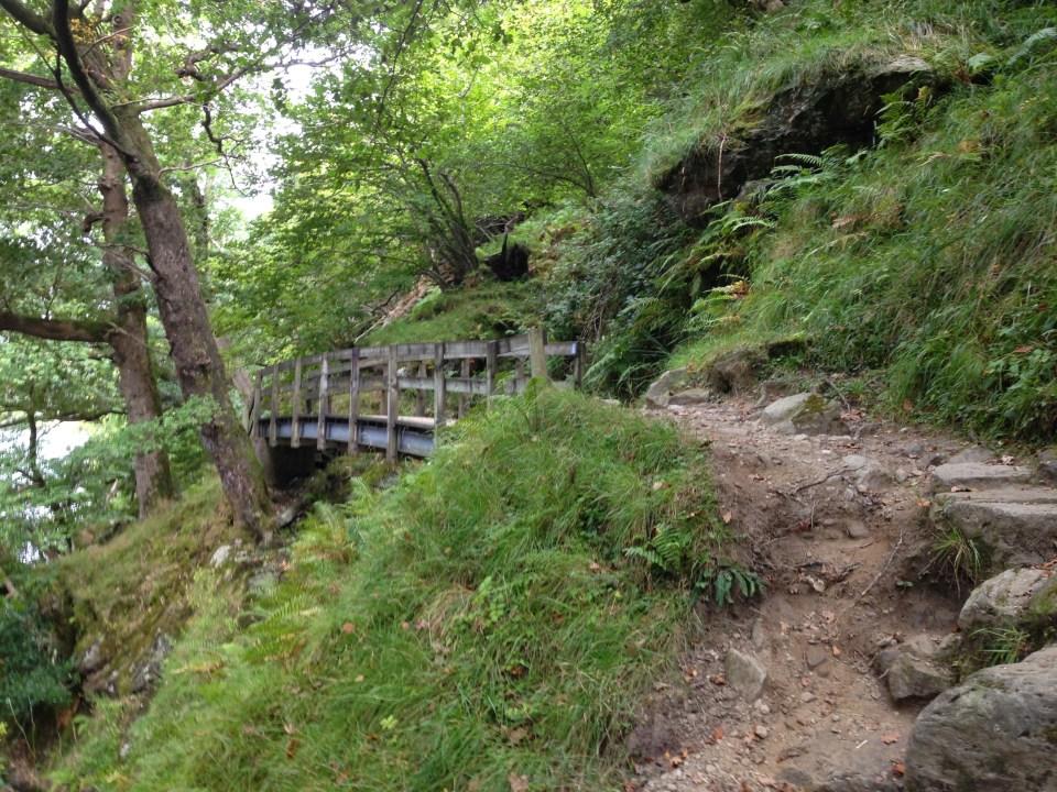 A charming bridge along the way