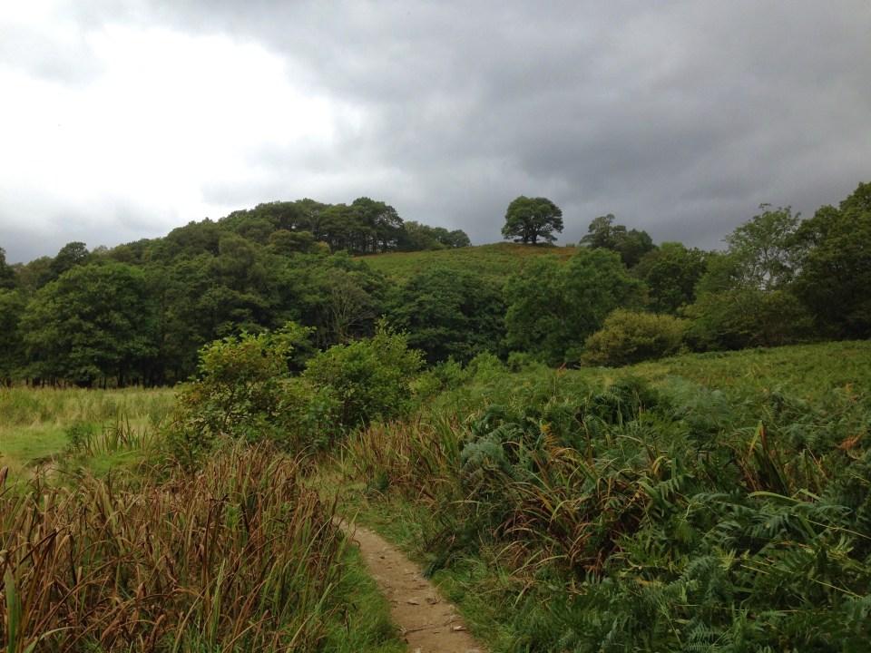 West Highland Way trail