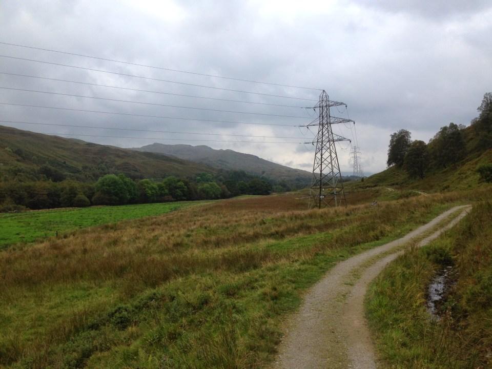 West Highland Way Powerlines