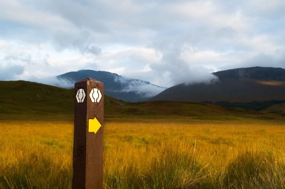 West Highland Way - Inveroran