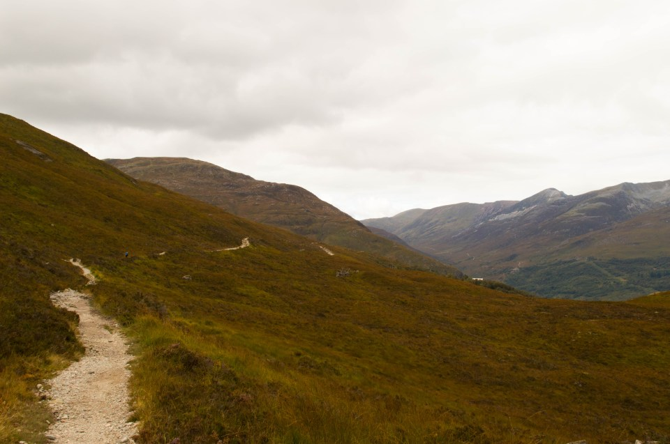 West Highland Way - Above Kinlochleven