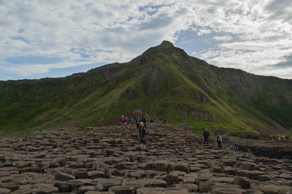Giant's Causeway Tide Pools