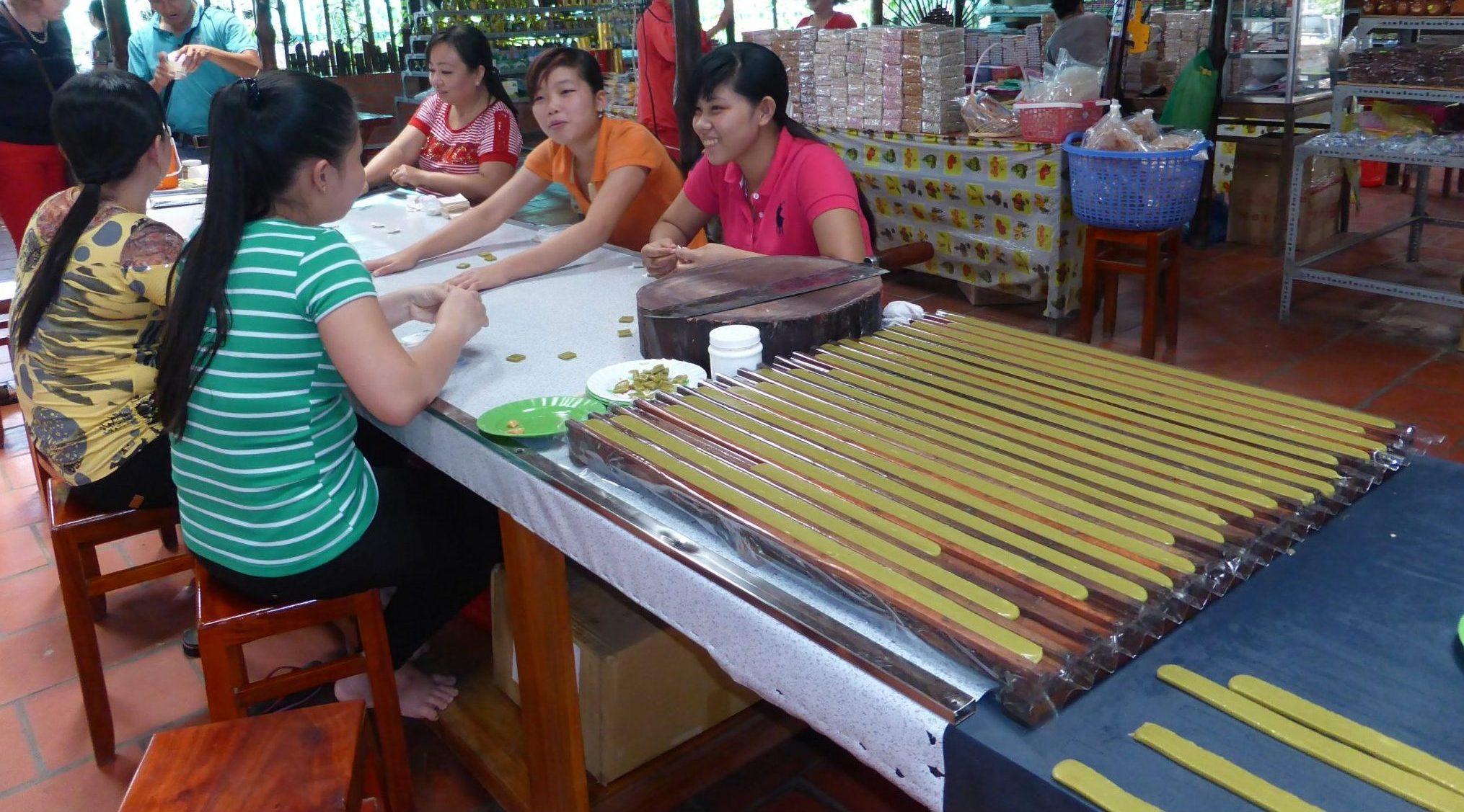 Bonbon noix de coco Mekong