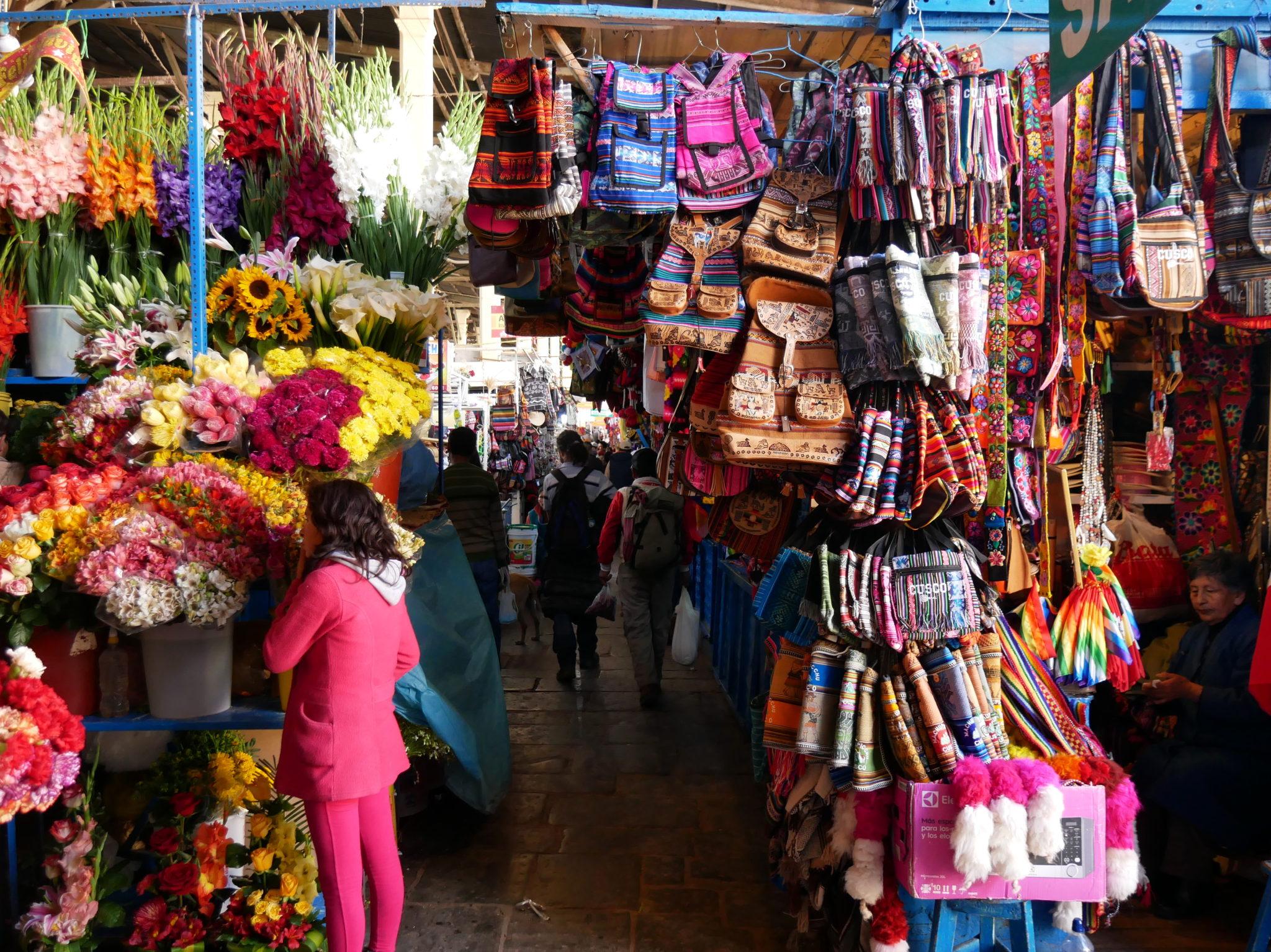 cusco Marché San Pedro