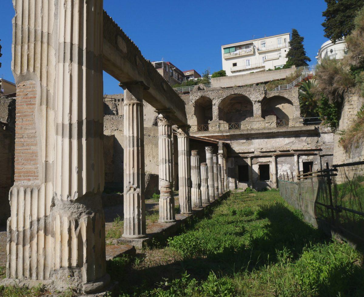 Retour en arrière à Pompéi et Herculanum