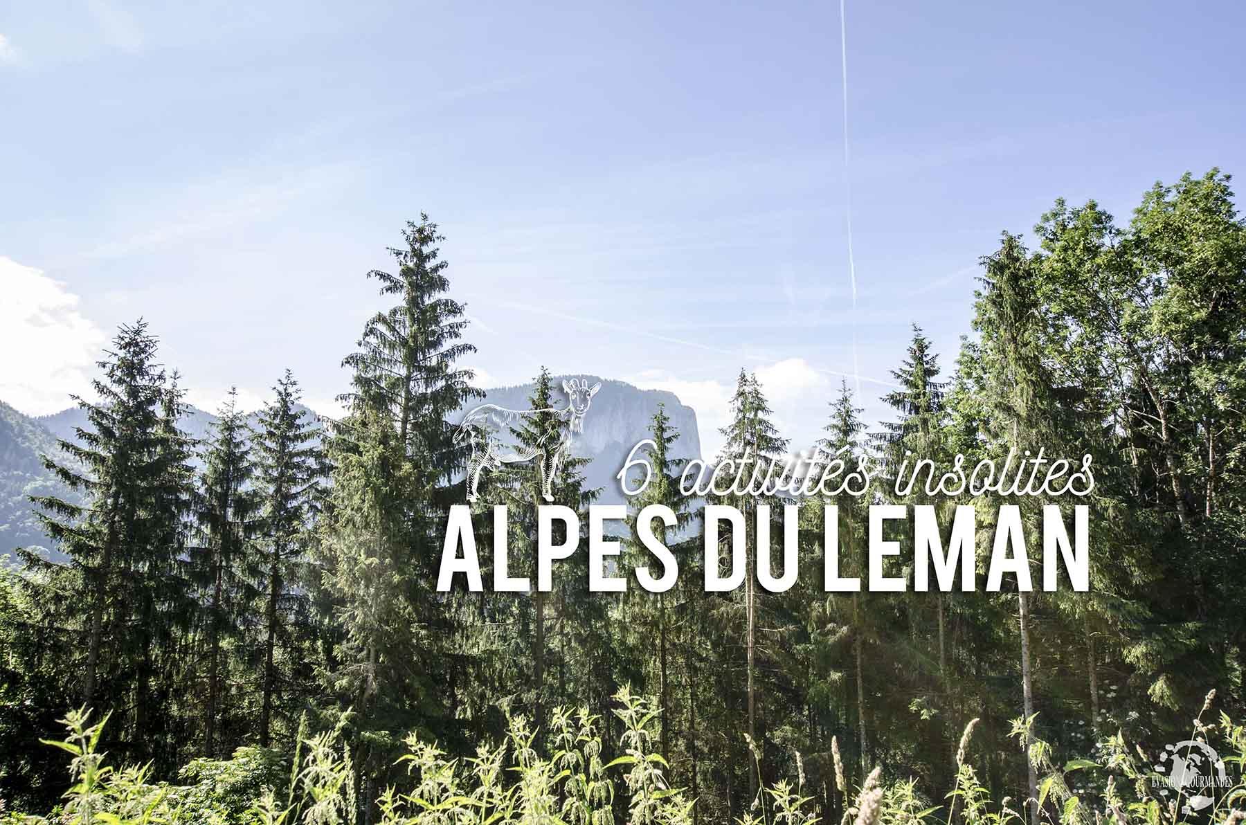 Activités Alpes du Léman