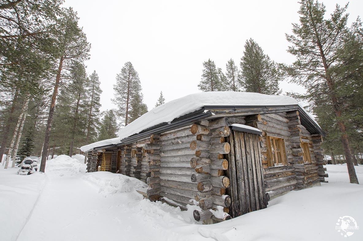 chalet en Laponie