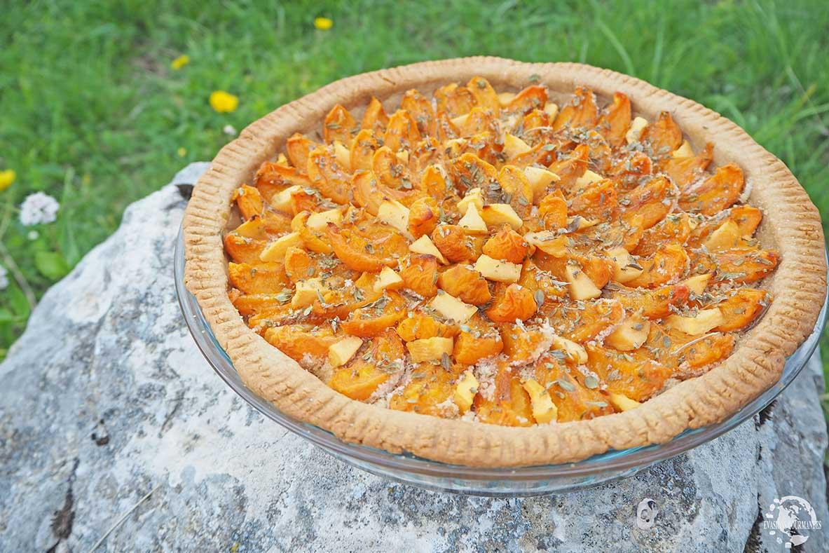 Tartes aux abricotas