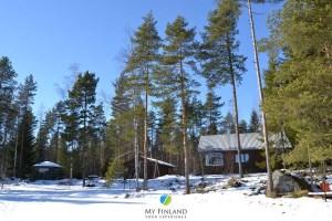 mökki en Finlande