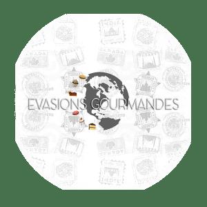 blog voyage Evasions Gourmandes Logo