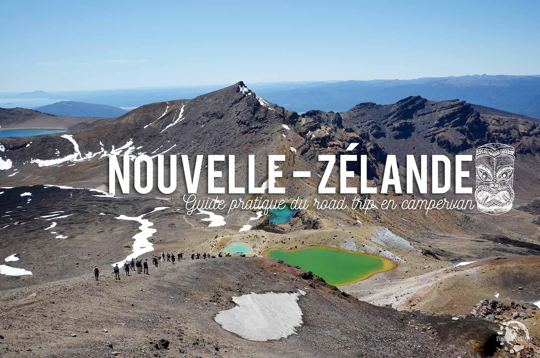 Road trip en van en Nouvelle-Zélande