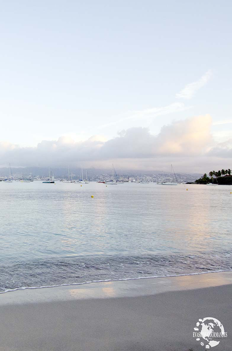 Lever du soleil Martinique