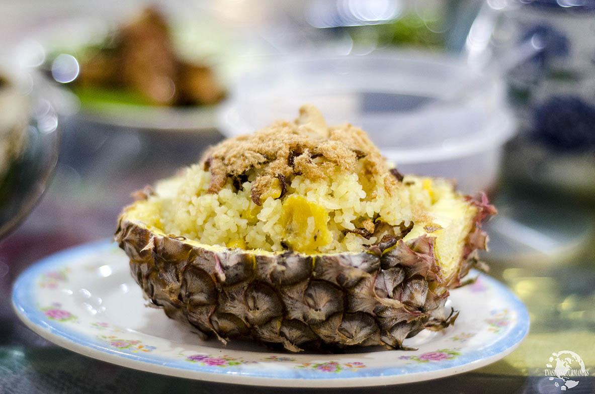 Riz ananas