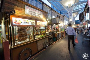 street food Singapour