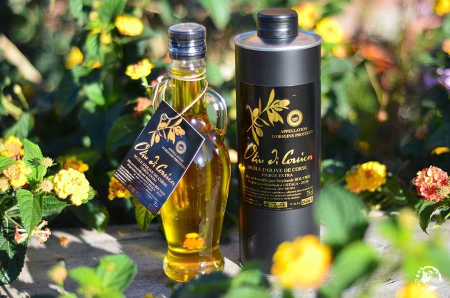 Huile d'olive corse L'Ernaghju