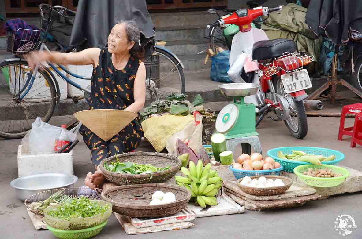 Marché au Vietnam