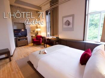 L'Hôtel 71, un hébergement de charme dans le Vieux-Québec
