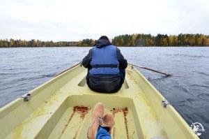 Barque en Finlande