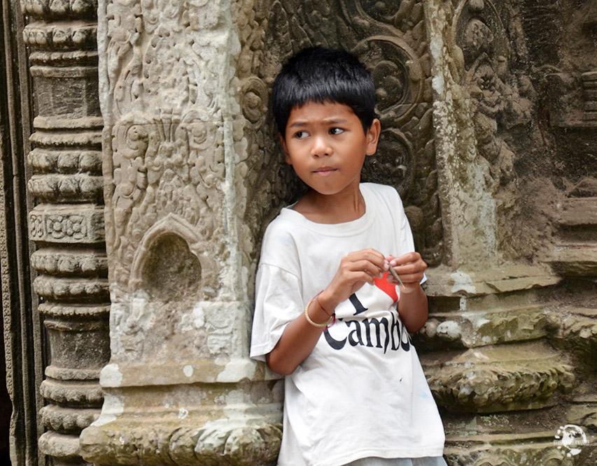 Enfant Angkor Vat