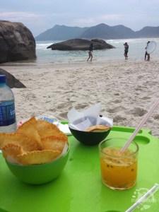 Street food au Brésil