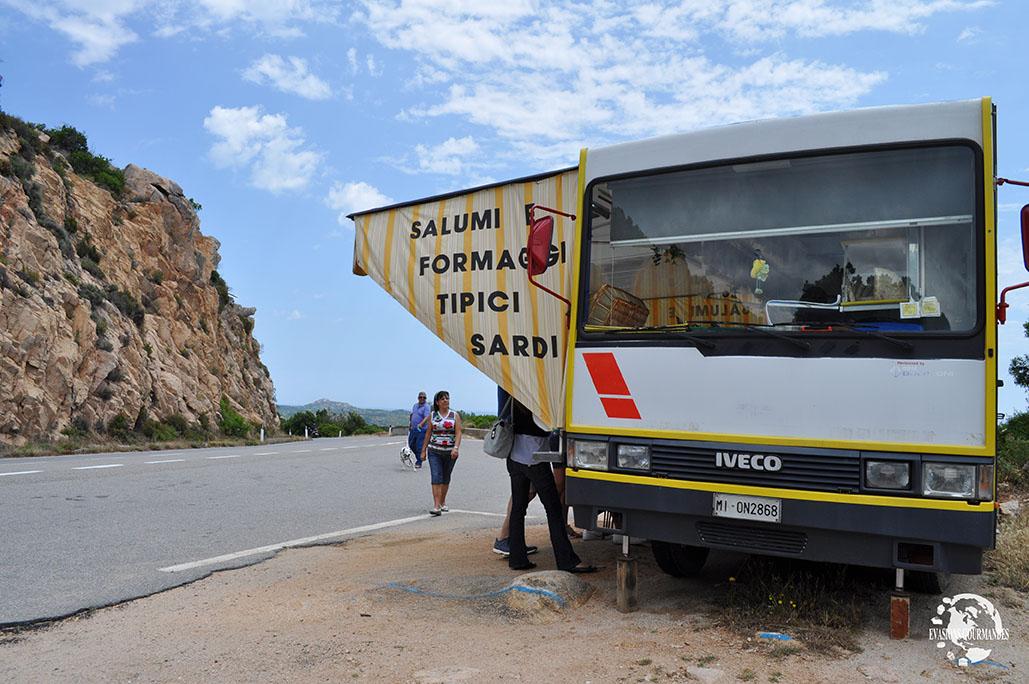 Food truck Sardaigne