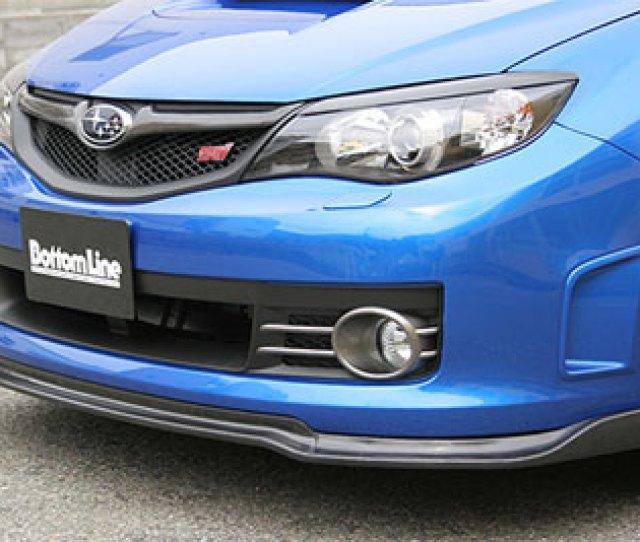 Bottomline Type 2 Front Lip Subaru Wrx Sti 08 10