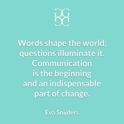 Eva Snijders Communication and change