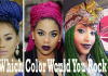 colored boxed braids