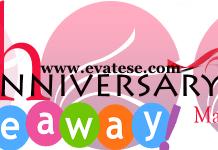 evateseblog anniverasry giveaway