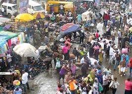 markets in raining season