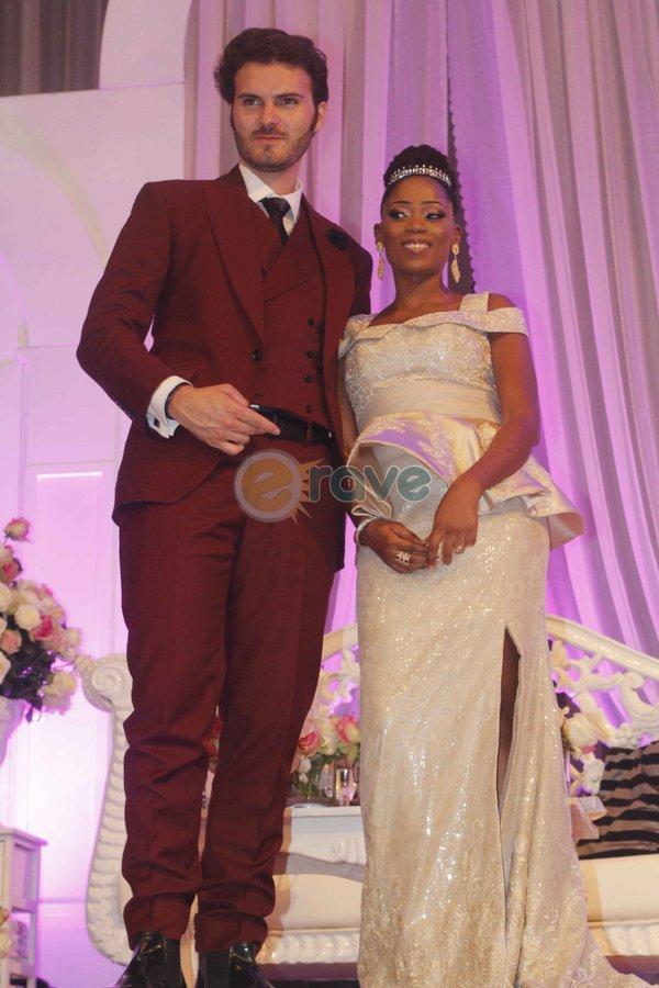 Tosyn-Bucknor-Aurelien-Boyer-Top-10-Nigerian-celebritiy-Wedding-2015 (2)